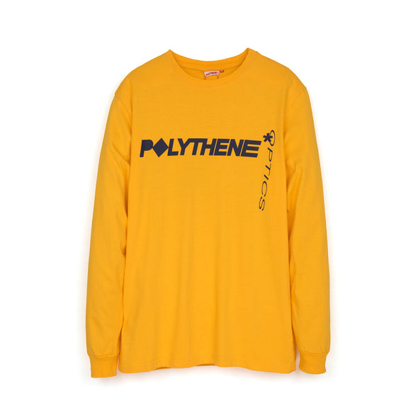 Polythene* Optics | Graphical Nails L/S T-Shirt Yellow - Concrete