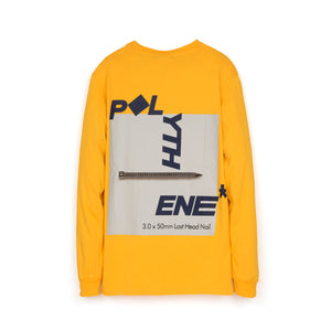 Polythene* Graphical Nails L/S T-Shirt Yellow
