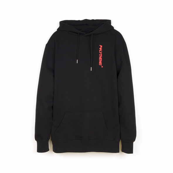 Polythene* Optics Logo Hoodie Black - Concrete