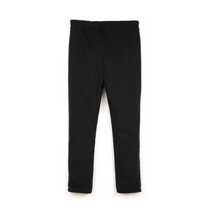 Polythene* Optics | Fleece Tracksuit Trouser Black - Concrete