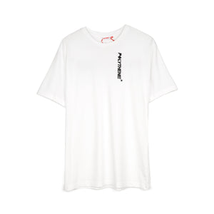Polythene* Optics | Logo Short Sleeve T-Shirt White - Concrete