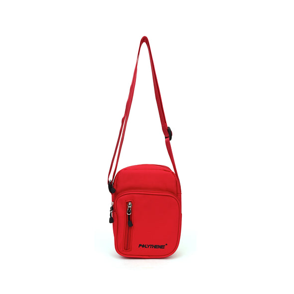 Polythene* Optics | Shoulder Bag Red - Concrete
