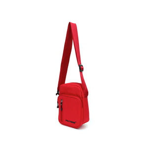 Polythene* Optics Shoulder Bag Red