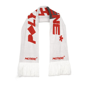 Polythene* Optics | Bold Scarf White - Concrete