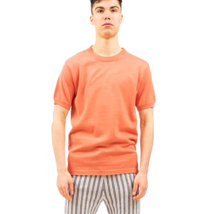 Propaganda Agency | Solid Sweater T-Shirt Coral - Concrete