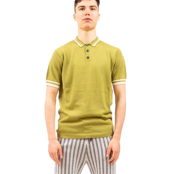 Propaganda Agency | Sweater Polo Green - Concrete