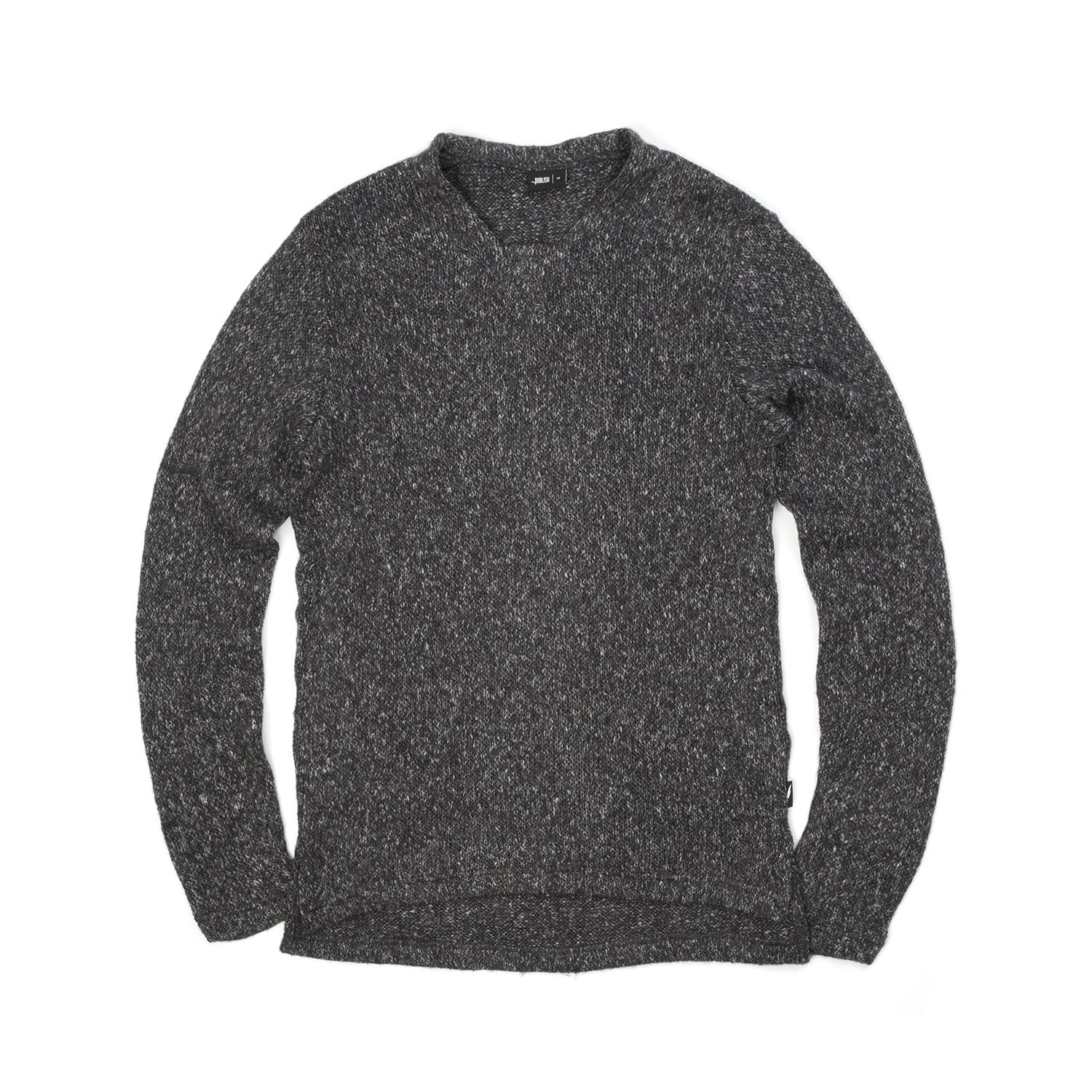 Publish 'Barlow' Sweat Charcoal