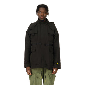 Puma | x Central Saint Martins Mid Length Jacket Black - Concrete
