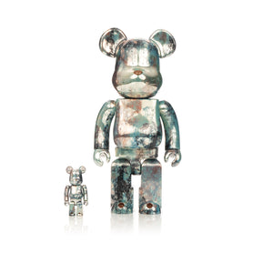 Medicom Toy | Be@rbrick 400% & 100% set Pushead #5 - Concrete