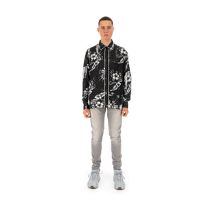 REPRESENT Dinner Shirt Monochrome Floral
