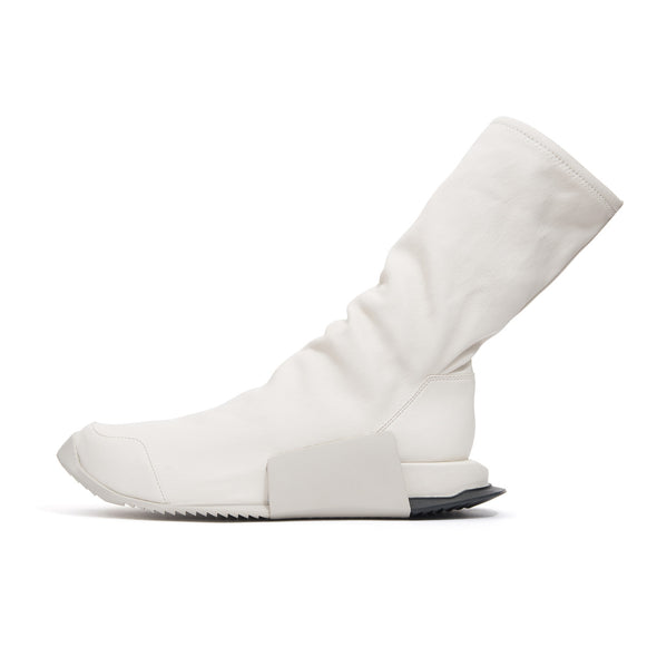 adidas x Rick Owens Level Runner High RO Milk - Concrete