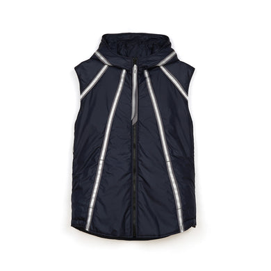 Christopher Raeburn M Lightweight Filled Gilet Navy - Concrete