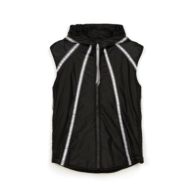 Christopher Raeburn M Lightweight Filled Gilet Black - Concrete