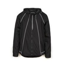 將圖像加載到畫廊查看器中Christopher Raeburn M Lightweight Hooded Zip Jacket Black