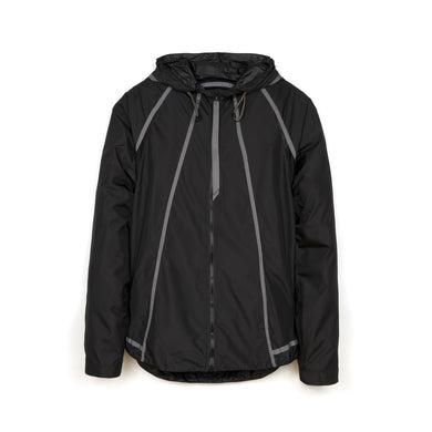 Christopher Raeburn M Lightweight Hooded Zip Jacket Black - Concrete