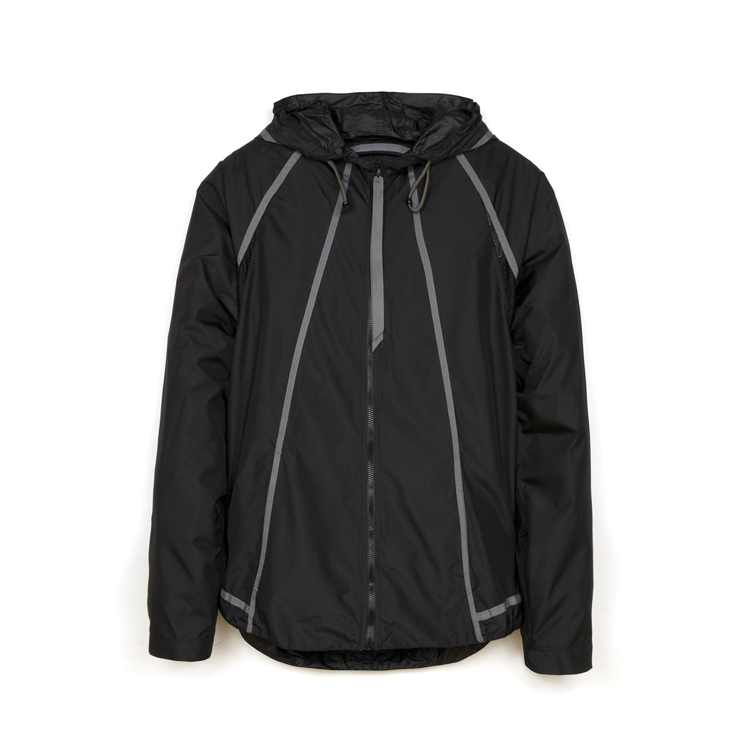 Christopher Raeburn M Lightweight Hooded Zip Jacket Black
