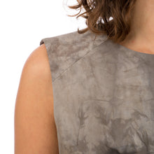 Load image into Gallery viewer, Christopher Raeburn Women's Panelled Fitted Dress Grey - Concrete