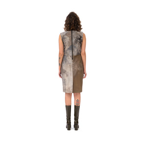 Christopher Raeburn Women's Panelled Fitted Dress Grey - Concrete