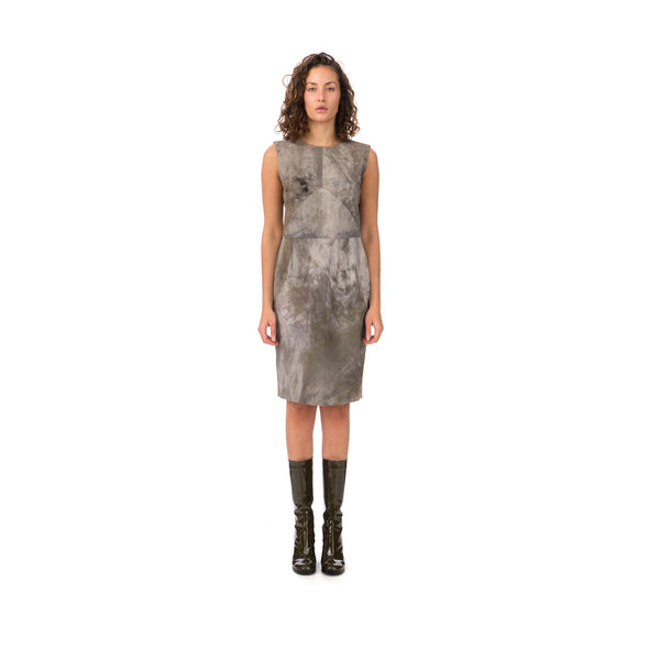 Christopher Raeburn Women's Panelled Fitted Dress Grey