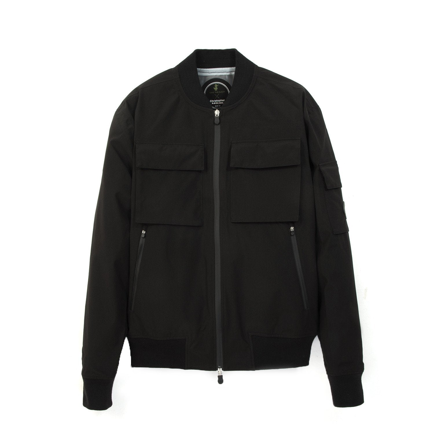 Christopher Raeburn x Save The Duck Bomber Jacket SHEL5 Black