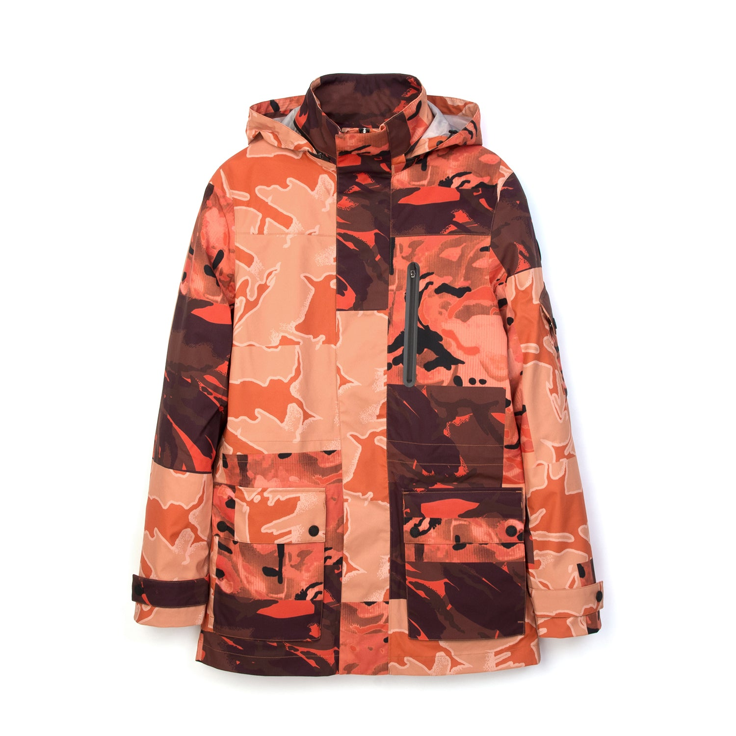 Christopher Raeburn x Save The Duck Woven Jacket FLAG6 Orange