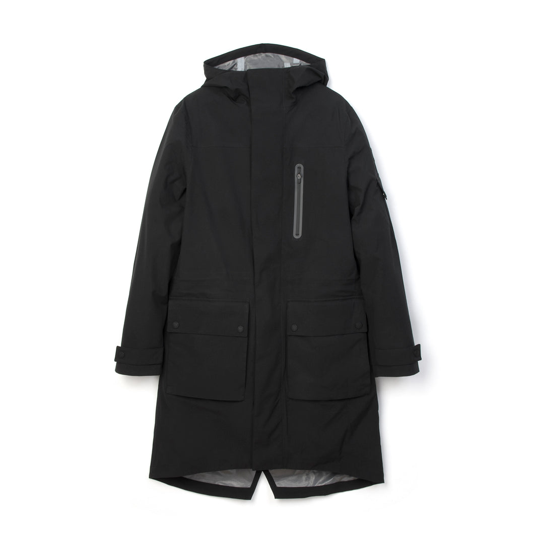 Christopher Raeburn x Save The Duck Woven Coat SHEL6 Black