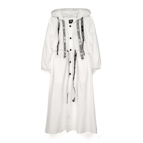 Christopher Raeburn Oversized Remade Cotton Parka White