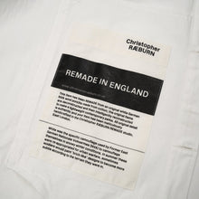 Load image into Gallery viewer, Christopher Raeburn Oversized Remade Cotton Parka White - Concrete