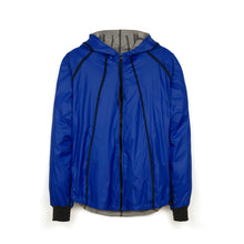 將圖像加載到畫廊查看器中Christopher Raeburn Reversible Skylon Jacket Blue - Concrete