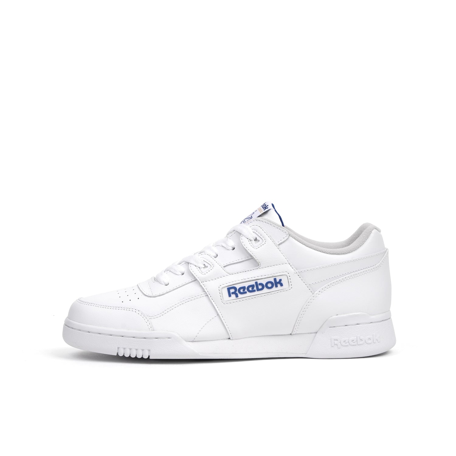 Reebok Workout Plus White/Royal - 2759