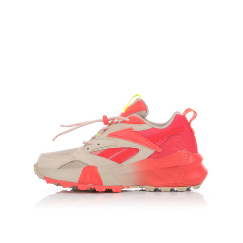 Reebok W Aztrek Double Mix Trail Light Sand / Neon Red