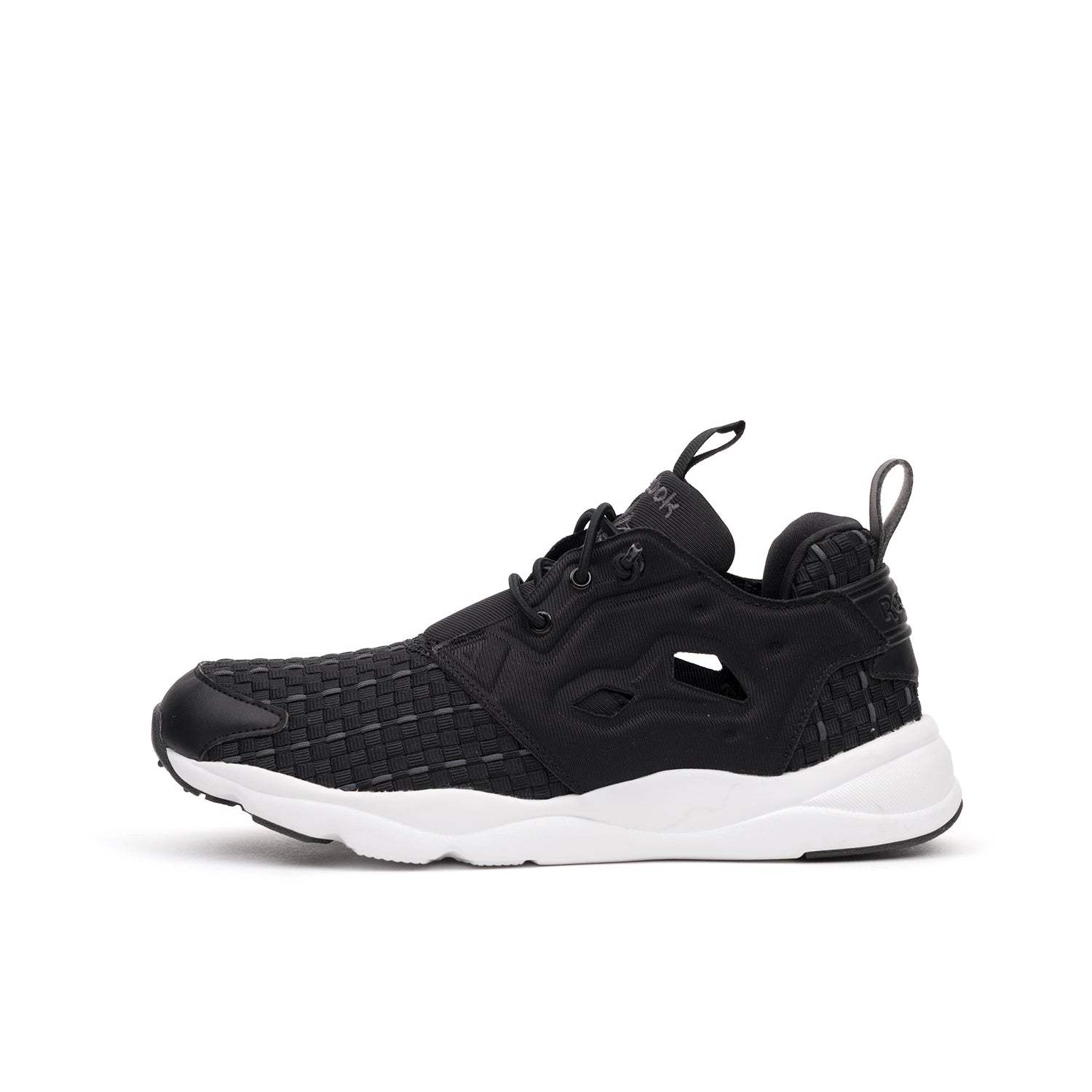 Reebok W Furylite New Woven Black Solid Grey White – Concrete 381e13f55