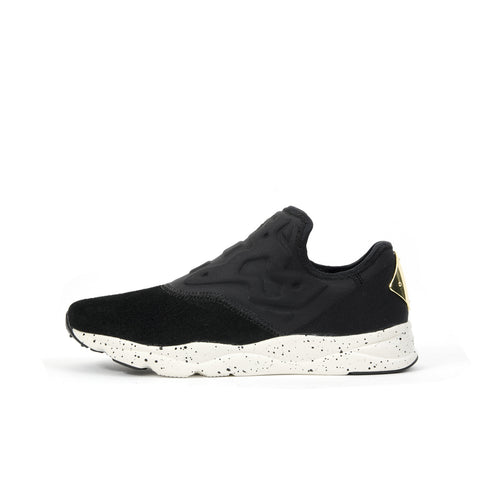 Reebok W Furylite Slip-On Lux Black/ Chalk - Concrete