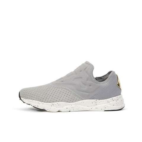 Reebok W Furylite Slip-On Lux Tin Grey/ Chalk - Concrete