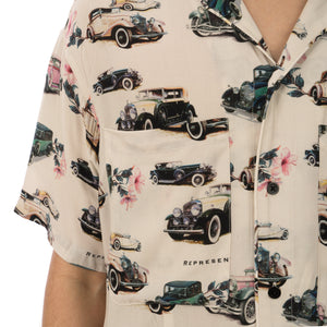 REPRESENT | Vintage Car S/S Shirt Off White