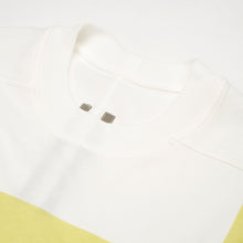 Load image into Gallery viewer, DRKSHDW by Rick Owens Jumbo Tee Milk / Dark Lime