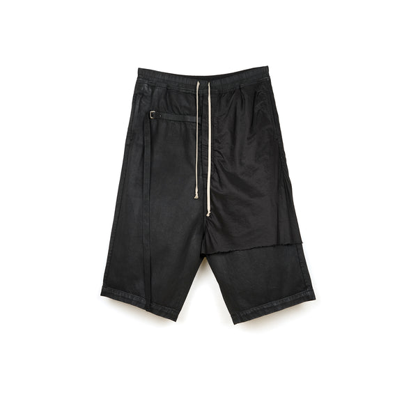 DRKSHDW by Rick Owens Combo Karloff Pods Shorts Black Wax
