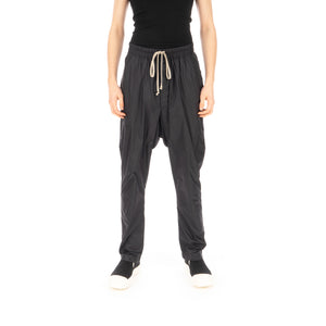 Rick Owens DRKSHDW Drawstring Long Pants Black