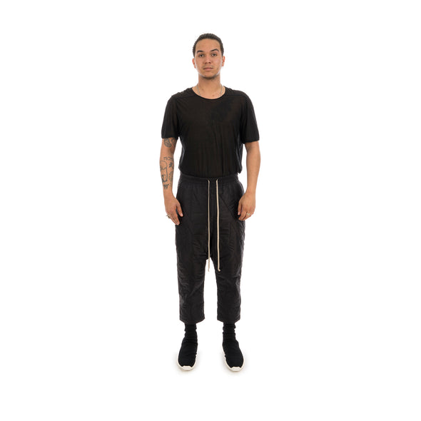 DRKSHDW by Rick Owens Padded Cropped Pants Black
