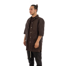 Load image into Gallery viewer, DRKSHDW by Rick Owens Padded Shirt Dark Amber - Concrete