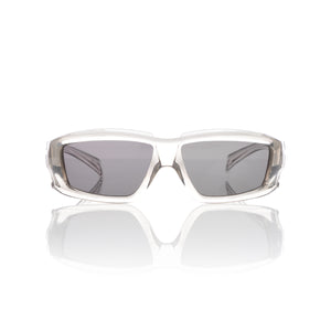 Rick Owens | Sunglasses Rick Transparent Temple / Black Lens