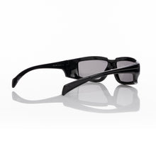 Load image into Gallery viewer, Rick Owens | Sunglasses Rick Black Temple / Black Lens - Concrete