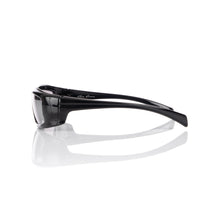 Load image into Gallery viewer, Rick Owens | Sunglasses Rick Black Temple / Silver Lens - Concrete