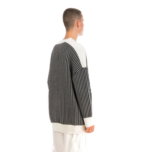 Henrik Vibskov Root Knit Black / White Stripes