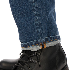 SELF CINEMA | M Taper Jean Mid Blue Vintage