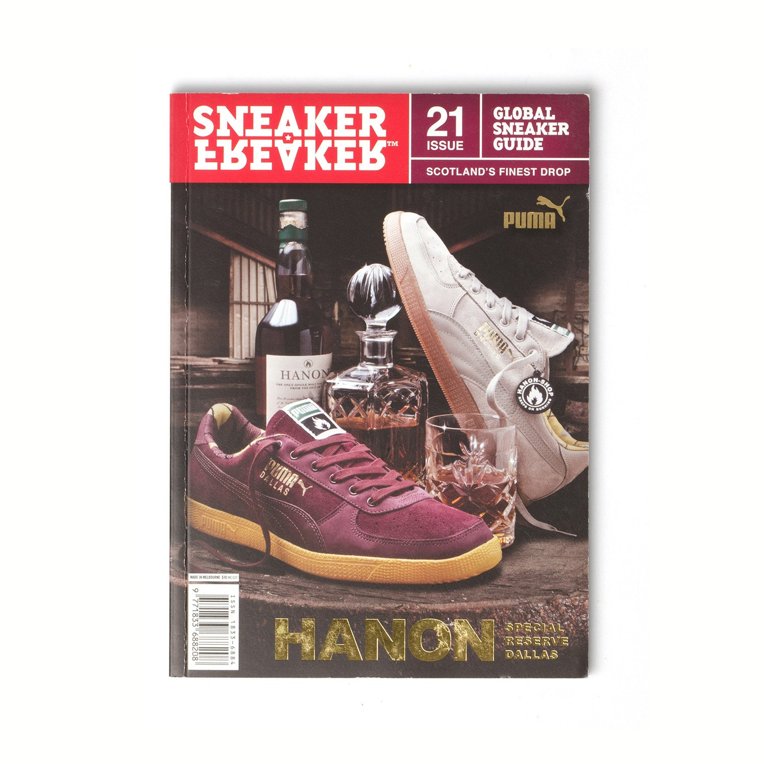Sneaker Freaker Magazine Issue #21 - Concrete