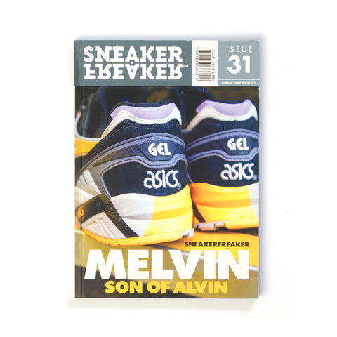 Sneaker Freaker Magazine Issue #31 - Concrete