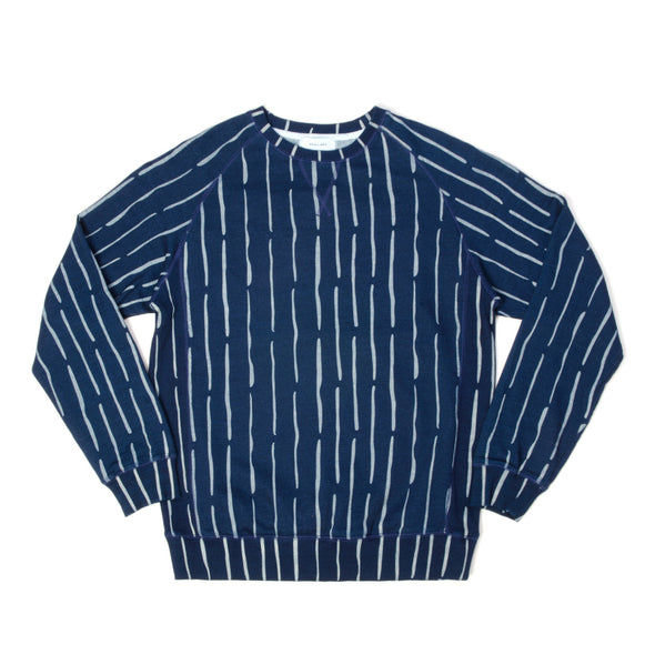 Soulland Frolova Sweat Navy - Concrete