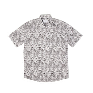 Soulland Point Shirt White/Black - Concrete