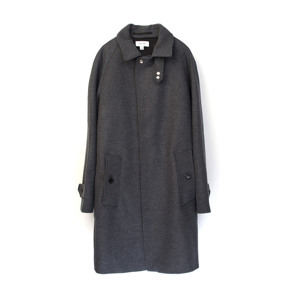 Soulland Bøge Trench Coat Grey